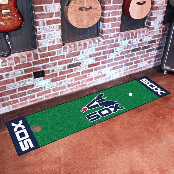 Picture of MLB - Chicago White Sox Retro Putting Green Mat