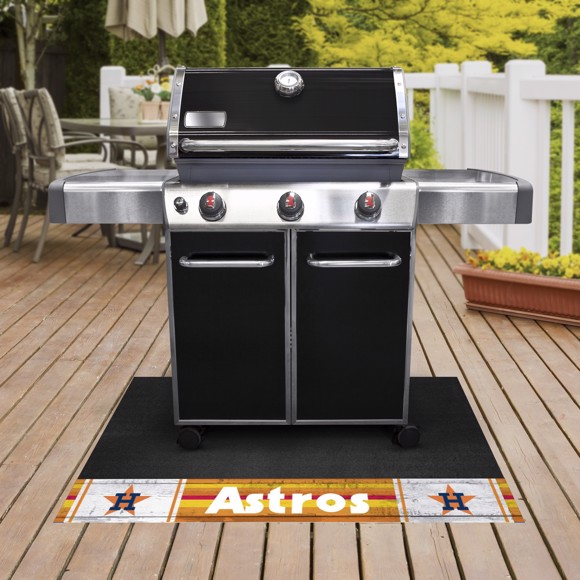 Picture of MLB - Houston Astros Retro Grill Mat