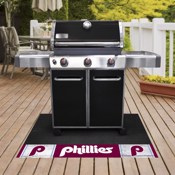 Picture of MLB - Philadelphia Phillies Retro Grill Mat