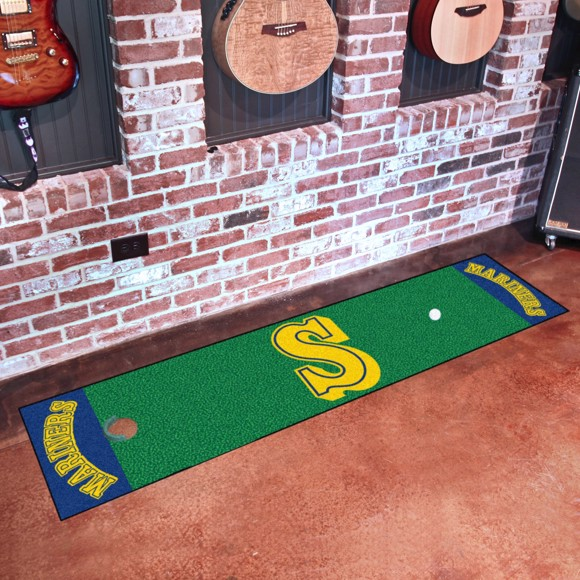 Picture of MLB - Seattle Mariners Retro Putting Green Mat