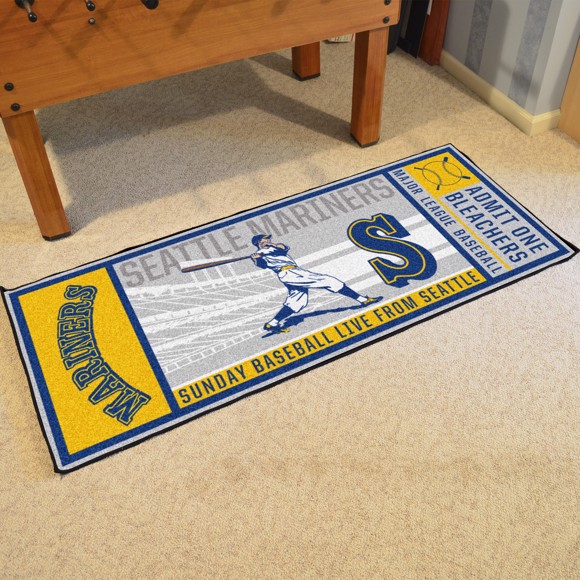 Picture of MLB - Seattle Mariners Retro Ticket Runner