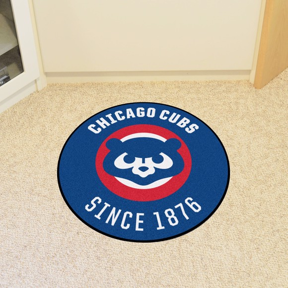 Picture of MLB - Chicago Cubs Retro Roundel Mat