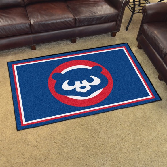 Picture of MLB - Chicago Cubs Retro 4x6 Rug