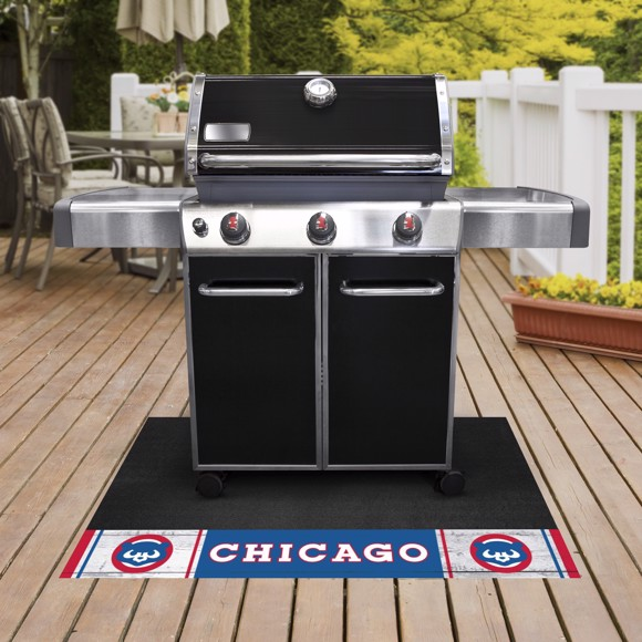 Picture of MLB - Chicago Cubs Retro Grill Mat