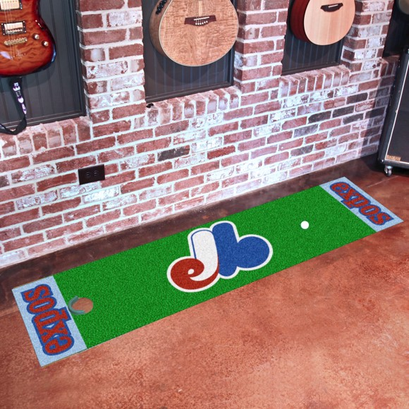 Picture of MLB - Montreal Expos Retro Putting Green Mat