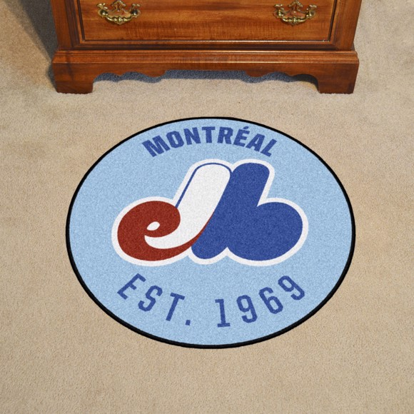Picture of MLB - Montreal Expos Retro Roundel Mat