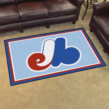 Picture of MLB - Montreal Expos Retro 4x6 Rug