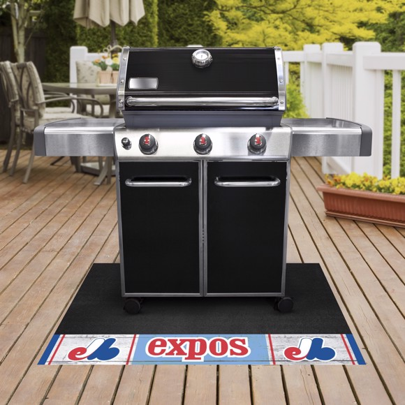 Picture of MLB - Montreal Expos Retro Grill Mat
