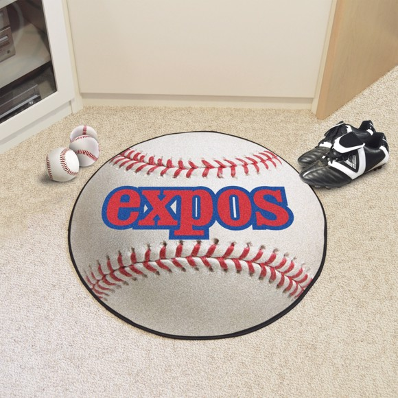 Picture of MLB - Montreal Expos Retro Baseball Mat