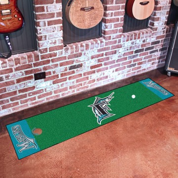 Picture of MLB - Florida Marlins Retro Putting Green Mat