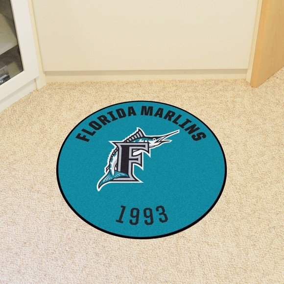 Picture of MLB - Florida Marlins Retro Roundel Mat