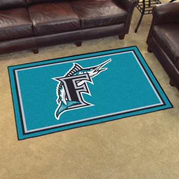Picture of MLB - Florida Marlins Retro 4x6 Rug