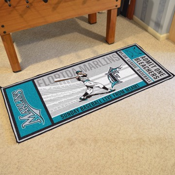 Picture of MLB - Florida Marlins Retro Ticket Runner
