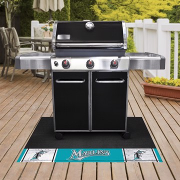Picture of MLB - Florida Marlins Retro Grill Mat