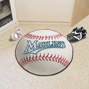 Picture of MLB - Florida Marlins Retro Baseball Mat