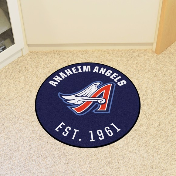 Picture of MLB - Anaheim Angels Retro Roundel Mat