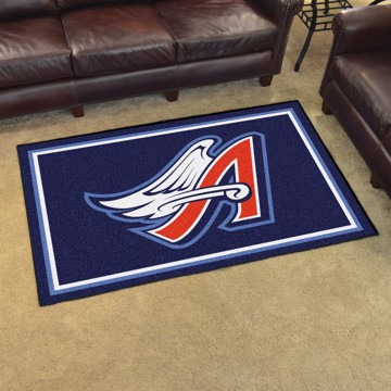Picture of MLB - Anaheim Angels Retro 4x6 Rug