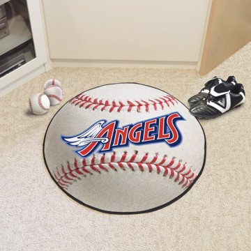 Picture of MLB - Anaheim Angels Retro Baseball Mat