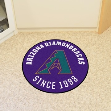 Picture of MLB - Arizona Diamondbacks Retro Roundel Mat