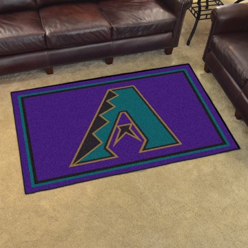 Picture of MLB - Arizona Diamondbacks Retro 4x6 Rug