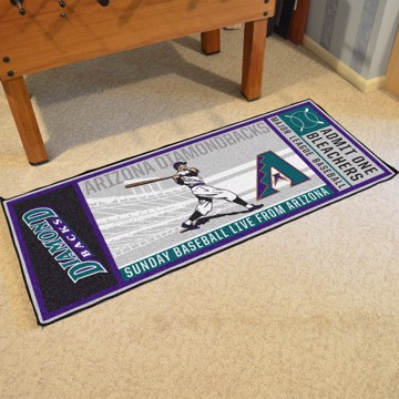 Picture of MLB - Arizona Diamondbacks Retro Ticket Runner