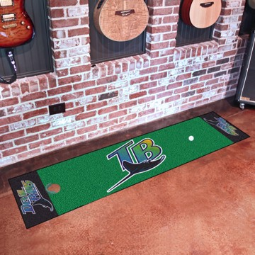 Picture of MLB - Tampa Bay Rays Retro Putting Green Mat