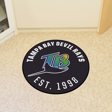 Picture of MLB - Tampa Bay Rays Retro Roundel Mat