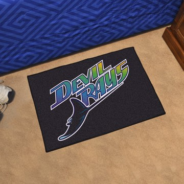 Picture of MLB - Tampa Bay Rays Retro Starter Mat