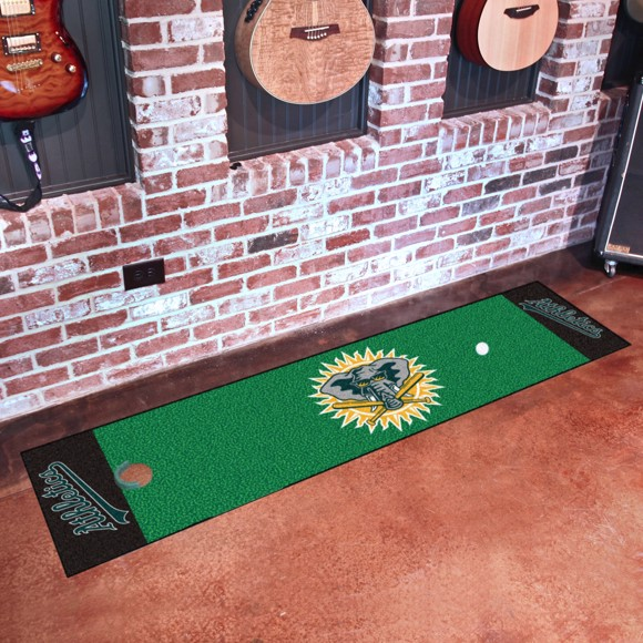 Picture of MLB - Oakland Athletics Retro Putting Green Mat