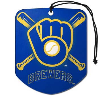 Picture of MLB - Milwaukee Brewers Air Freshener 2-pk
