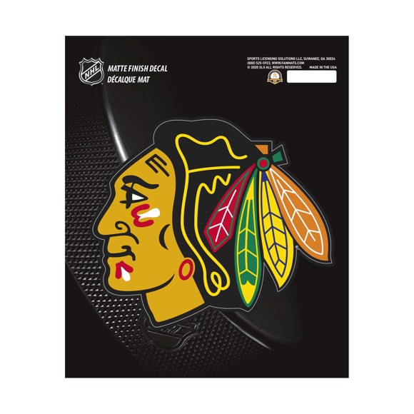 Picture of NHL - Chicago Blackhawks Matte Decal