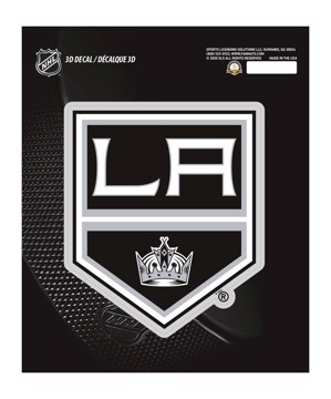 Picture of NHL - Los Angeles Kings 3D Decal