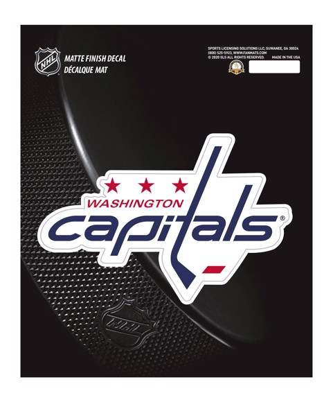 Picture of NHL - Washington Capitals Matte Decal