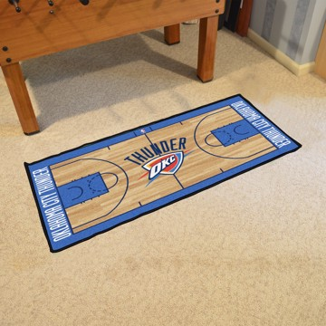 Picture of NBA - Oklahoma City Thunder NBA Court Runner