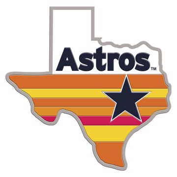 Picture of MLB - Houston Astros Embossed State Emblem