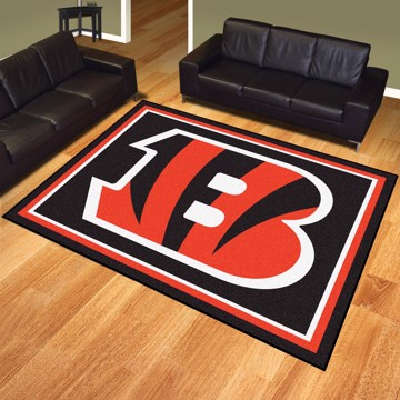 Picture of NFL - Cincinnati Bengals 8'x10' Plush Rug