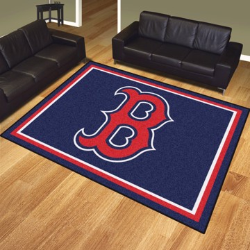 Picture of MLB - Boston Red Sox 8x10 Plush Rug