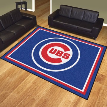 Picture of MLB - Chicago Cubs 8'x10' Plush Rug