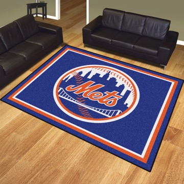 Picture of MLB - New York Mets 8'x10' Plush Rug