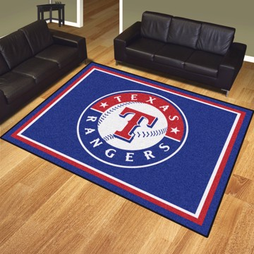 Picture of MLB - Texas Rangers 8'x10' Plush Rug