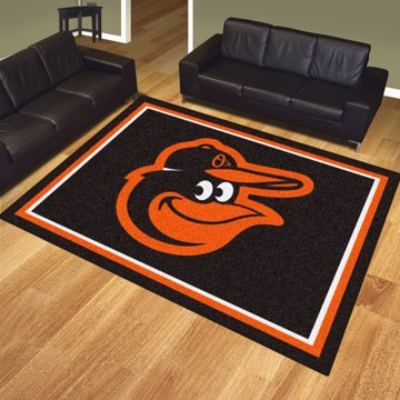 Picture of MLB - Baltimore Orioles 8'x10' Plush Rug