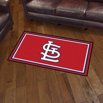 Picture of MLB - St. Louis Cardinals 3x5 Rug