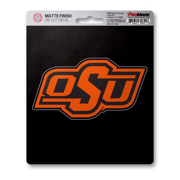 Picture of Oklahoma State Matte Decal