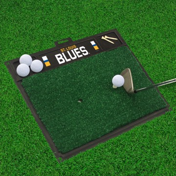 Picture of NHL - St. Louis Blues Golf Hitting Mat