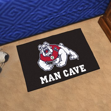 Picture of Fresno State Man Cave Starter Mat - Black