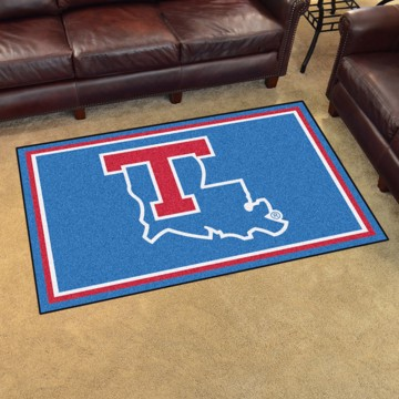 Picture of Louisiana Tech 4'x6' Plush Rug