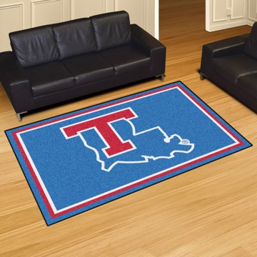 Picture of Louisiana Tech 5'x8' Plush Rug