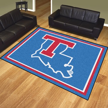 Picture of Louisiana Tech 8'x10' Plush Rug