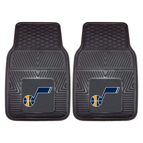 Picture of Utah Jazz 2-pc Vinyl Car Mat Set