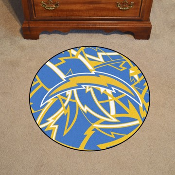 Picture of NFL - Los Angeles Chargers Roundel Mat